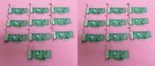 20 x Fujitsu LR2910 Esprimo PCI-E DVI ADD2 Flexislot Card S26361-D1500-V610 GS1